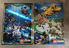VINTAGE LEGO SYSTEMS POSTERS GOOD CONDITION AQUAZONE CITY TOWN
