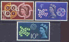Great Britain 1961 CEPT Set (3) Unhinged Mint SG 626-8