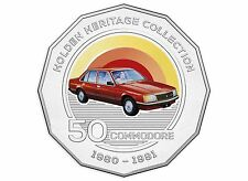 2016 50c Holden Heritage Coin - VC Commodore