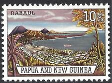 Papua New Guinea 1963 10/- RABAUL HARBOUR (1) Unhinged Mint SG 44