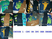 *NEW BOYS 2PC OR 3PC LOT SCHOOL SHIRTS PANTS SUMMER WINTER OUTFIT SET 4 5 6 7 7x