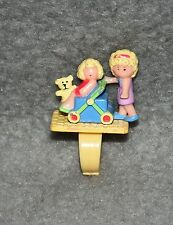 Polly Pocket Pram and Baby Ring Fingerring 80er 90er Jahre Kinderwagen Baby