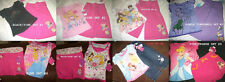 *NEW GIRLS 2PC DISNEY PRINCESS SHIRT CAPRIS SUMMER OUTFIT SET 2T 3T 4 5 6