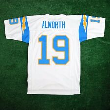 Lance Alworth 1963 San Diego Chargers MITCHELL & NESS White Throwback Jersey Men