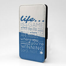 Quote Saying Flip Case Cover For Samsung Galaxy - A1185