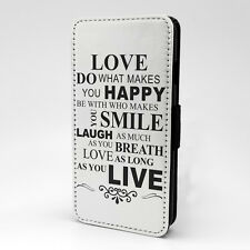 Saying Quote Flip Case Cover For Samsung Galaxy - A1197