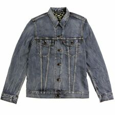"Levi's Skateboarding ""Trucker Jacket Battery"" Denim (Light Blue) Acid Wash Jean"
