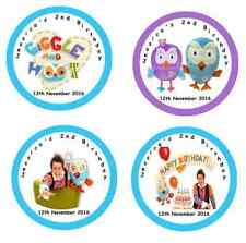 Personalised GIGGLE & HOOT Self Adhesive Glossy Labels/Stickers
