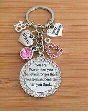 Happy Birthday Keepsake Gift keyring -12th 13th 16th 18th 21st 30th 50th 60th