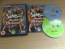 The Sims 2 Double Deluxe Game PC Game with Manual 1st P&P