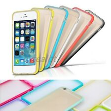 Colorful Candy Ultra Thin Frame TPU+PC Case Slim Scrub Cover For iPhone 6/6S