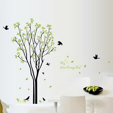 Tree Bird Quote Removable Wall Decal Mural Home Art DIY Decor Wall Sticker HP@