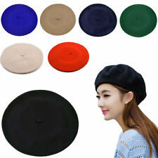 New Fashion Men Women Classic Wool Warm Beret Beanie Hat Cap French Style Gift