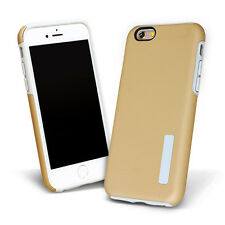 Frosted Plain Shockproof Soft Silicone Hard PC Back Case For iPhone 5 6 S 7 Plus