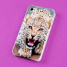 Wholesale Lot Cute Leopard Back Skin Case Cover Protector For Apple i-phone 4 4S