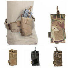 XL1351 Tactical Military Hunting Single Pistol Molle AK Gun Magazine Pouch