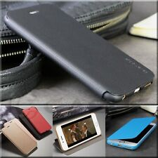 Ultra Slim PU Leather Flip Case Stand Wallet Cover for Apple iPhone Models