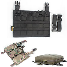 Nylon Molle Board Magazine Pouch Storage Bag for Hunting Shooting