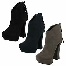 Ladies Suedette Heeled Boots by CoCo