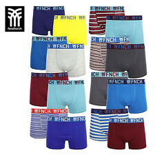 FENCHURCH MENS 2 PACK COTTON BOXER SHORTS/TRUNKS BOXED - RRP £16.99 - 16 DESIGNS