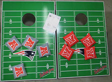 Wild Sports NFL Tailgate Toss Bean Bag Game, Patriots