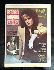 Record Mirror (1976) Marc Bolan, 10cc, Tina Charles, Status Quo, Sweet, Spiders