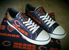 NFL Chicago Bears Levis Canvas Womens  Sneakers