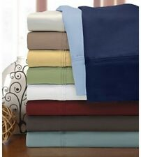 Impressions 1200tc Egyptian Cotton Solid Sheet Set