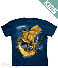 Golden Dragon Child's T-Shirt from The Mountain - Child's S - XL