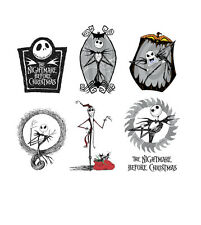 Nightmare Before Christmas NBC Iron On T-shirt Vest Heat Transfer CHOOSE Print