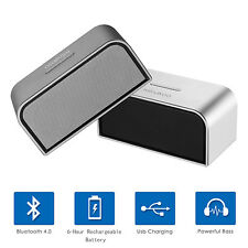 Portable Bluetooth Speaker Wireless Stereo Rechargeable HIFI Bass TF MP3 Player