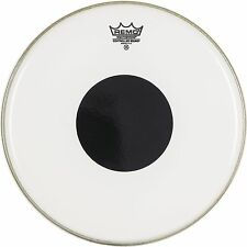Remo Controlled Sound w/ Top Black Dot Clear Drum Head