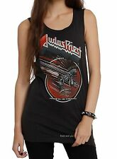 Judas Priest T-Shirt Screaming for Vengeance metal rock Girls Tank L XL NWT