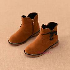 New Fall Winter Toddlers Kids Girls&Boys Suede Snow Boots Martin Fashion Warmer