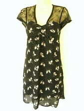 BNWT PORTMANS STUNNING BLACK LACE DRESS  RRP $90 SZ 8 10