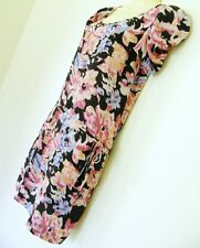 BNWT PORTMANS STUNNING SILK FLORAL DRESS WITH SASH RRP $130 sz 8 10  FREE POST