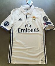 2017-18 Real Mardid Home Jersey- 2017 UEFA Champions League - PLAYER ISSUE