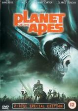 Planet of the Apes (2001) Mark Wahlberg in Tim Burton cult sci-fi on DVD!
