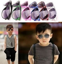 Child Cool Children Boys Girls Kids Plastic Frame Sunglasses Goggles Eyewear QP