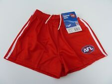 AFL SYDNEY SWANS KIDS FOOTY SHORTS - BRAND NEW