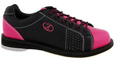 Elite Athena Black/Pink Women's Bowling Shoes - New - 2-Year Warranty