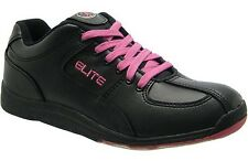 Elite Ariel Black Bowling Shoes - Women - NEW - 2-Year Warranty