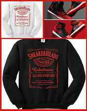 CC EXCLUSIVE SWEATER/SWEATSHIRT TO MATCH NIKE AIR JORDAN 1 BANNED OR ANY BREDS!!