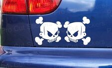 Skulls Ken Block Hoonigan Small to Large Custom Car Bumper Stickers Decals ref:2