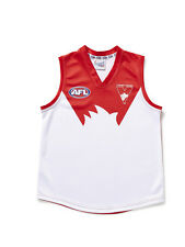 AFL SYDNEY SWANS  KIDS FOOTY JUMPER/GUERNSEY - BRAND NEW
