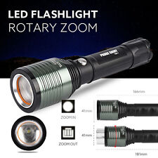 Super Bright Zoomable XML Q5 LED 18650 Flashlight Torch Zoom Lamp Light 3 Mode