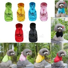 Pet Dog Hoodie Hooded Sweatshirt Jumper Winter Warm Clothes Coat Puppy Apparel