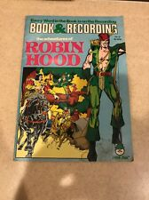 The Adventures of Robin Hood Book w/ Record Peter Pan