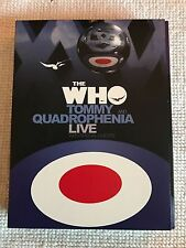 The Who Tommy & Quadrophenia Live Rare Collectors DVD - 3 Disc 2005 Edition Mint