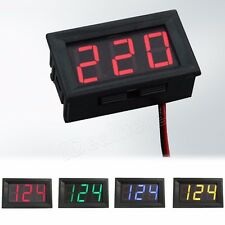 Mini DC 0-100V LED 3-Digital Diaplay Voltage Voltmeter Panel Meter with 3 Wires